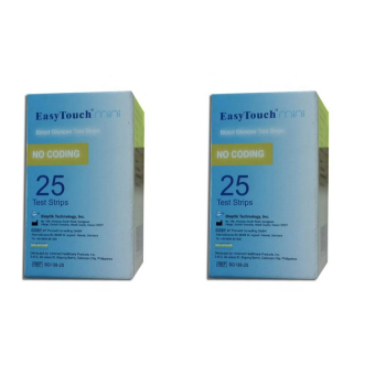 EasyTouch MINI Glucose Strips 25's Set of 2 Price Philippines