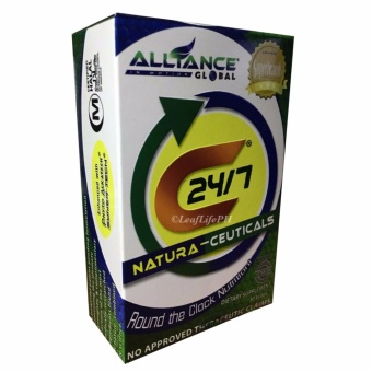 C24/7 Natura-Ceuticals Dietary Supplement by 30's Price Philippines