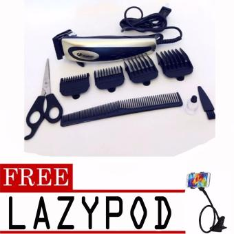 Harga Jinghao Hair Clipper JH-4613 (Color May Vary) with free Lazypod (color may vary)