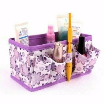 Multipurpose Foldable Stationary Organizer (Lavender) Price Philippines