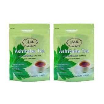 Harga Adelle Ashitaba Tea with Chalcone in Ziplock 2g 10's Teabags Pack of 2