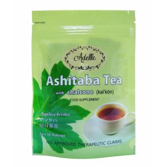 Harga Adelle Ashitaba Tea with Chalcone in Ziplock 2g 10's Teabags
