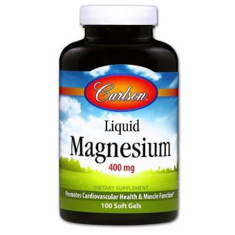 Harga Carlson Liquid Magnesium 400 mg 100 softGels