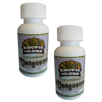 Harga Tropic Herbs Mangosteen 100% Pure & High Grade Powder Capsule 500mg Set of 2