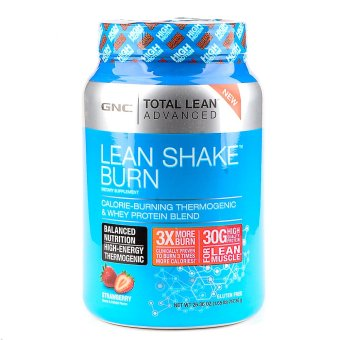 Harga GNC Total Lean Advanced Lean Shake Burn - Strawberry 26.07 oz