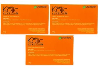 JC Premiere Omni White Kojic Soap 135g (Set of 3) Price Philippines