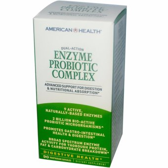 American Health, Enzyme Plus Probiotic Complex, 90 Veggie Caps Price Philippines