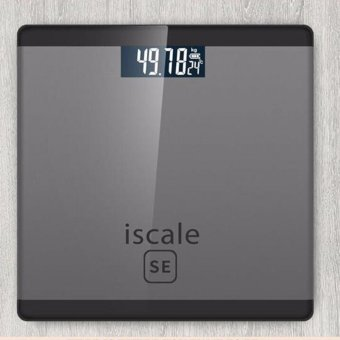 Iscale SE Digital Scale High Accuracy Weight Scale (Black-Gray) Price Philippines