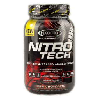 Harga Muscletech Nitro-tech Whey Protein 2lbs (Chocolate)