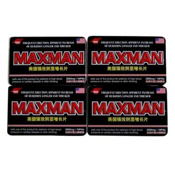 Max-man Penis Enlarger and Sex Enhancement Supplement 2800mg Pills Box of 10 (Set of 4) Price Philippines