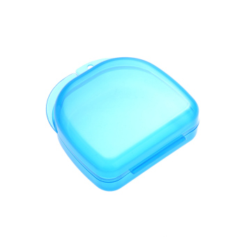 1Pc Dental Orthodontic Retainer Plastic Tray Box Teeth Container Dental Box False Tooth Box Denture Box Blue (Intl) Price Philippines