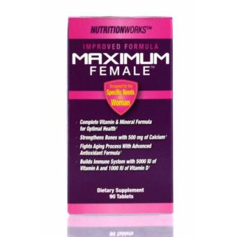 Harga Nutrition Works Maximum Female 90 Tablets