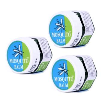 Thailand Mosquito Balm - Mosquito repellent & anti-itch balm (13g) - Set of 3 Price Philippines