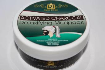 Harga RJ Skin Care Activated Charcoal Mudpack 100g