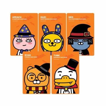 The FACE MASK Ryan Firming Face Mask (3pcs) From Korea Price Philippines