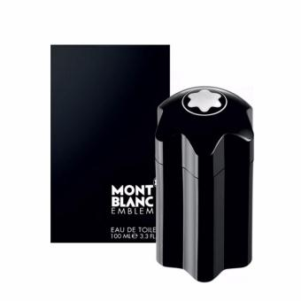 Harga Mont Blanc Emblem Black Eau de Toilette for Men 100ml