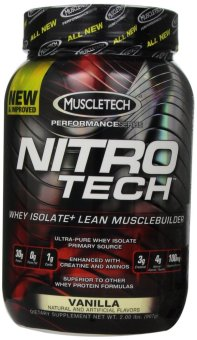 Harga MuscleTech Nitro-Tech Performance Series Vanilla 907 grams