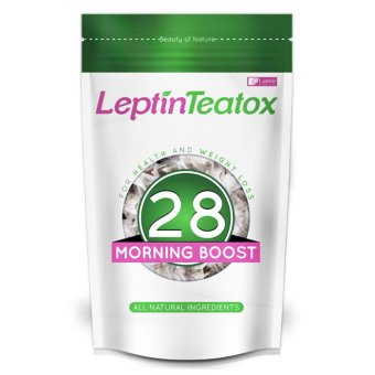 Leptin Teatox Morning Boost 28-day Weight Loss Tea Detox (28 teabags) Price Philippines