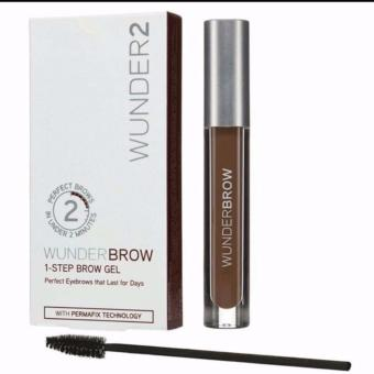 Harga Wunder 2 Brow 1 step brow gel (Black/Brown)