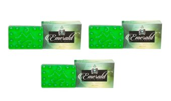 Harga Mont Albo Emerald All-In Soap 120g Set of 3