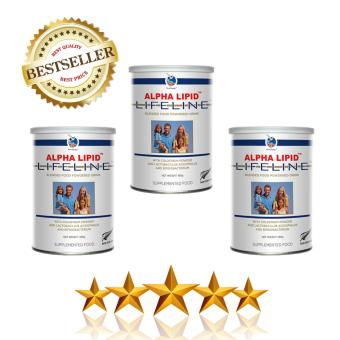 Harga Alpha Lipid Lifeline with Colostrum & Lactobacillus Acidophilus & Bifidobacterium (3 cans)