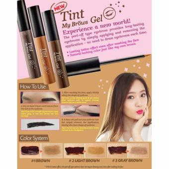 Harga Korea Tint My Brows Gel (Light Brown) 5g