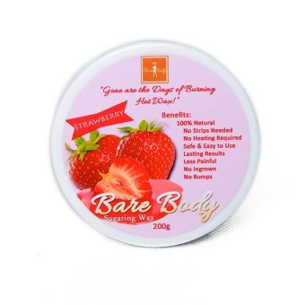 Harga Bare Body Ph Sugar Paste Hair Removal 200g (Strawberry)