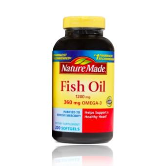 Nature Made FishOil 1200mg (200 Softgels) Price Philippines