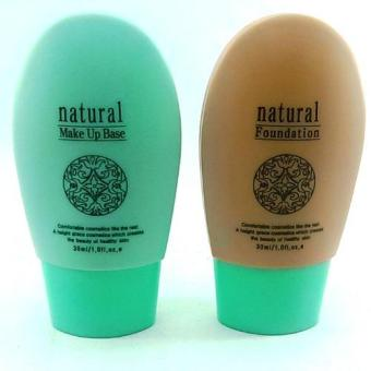 Natural Foundation with Natural Make Up Base 60ml Korean Cosmetics Price Philippines