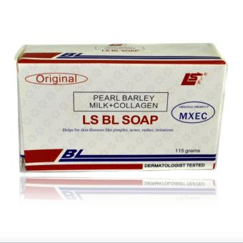 Harga BL Soap Pearl Barley Milk + Collagen 115 grams