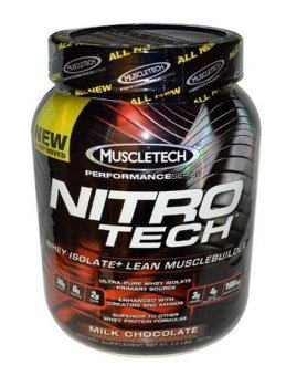 Harga Muscletech Nitro Tech Performance Series Whey Isolate Chocolate 2 lbs