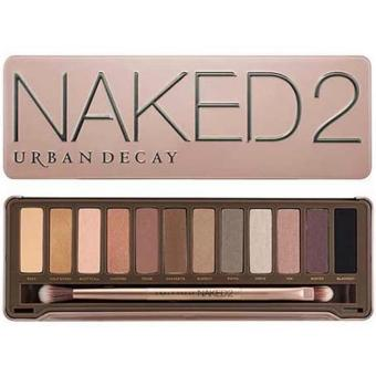 Harga Urban Decay NAKED 2 Eyeshadow Palette Earth Color OEM