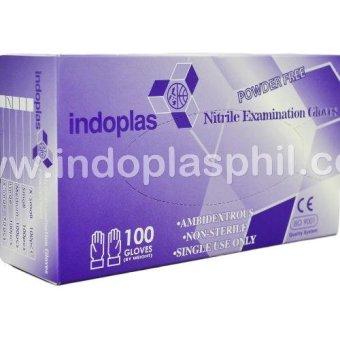 Indoplas Nitrile Examination Gloves Box of 100