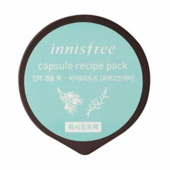 Innisfree Capsule Recipe Pack - Bija & Tea Tree 10ml (Set of 3) - 2