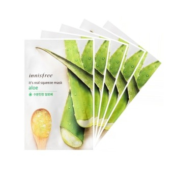 Philippines | Innisfree It's Real Squeeze Mask- Aloe 20ml (Set of 5) The Best Cheap