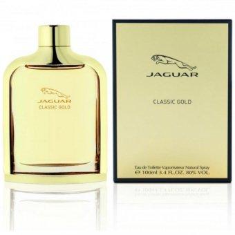 Jaguar Classic Gold Eau De Toilette for Men 100mL