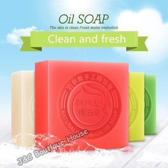 J&C Goat Milk Natural Moisturizing Deep Clean Oil Soap - 5