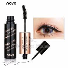 J&C Korea NOVO 2in1 Eyeliner + Mascara Eye Makeup #5035 Philippines