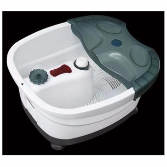 J&J New Beauty Foot All-in-One Foot Spa Bath Massager (Green) - 2