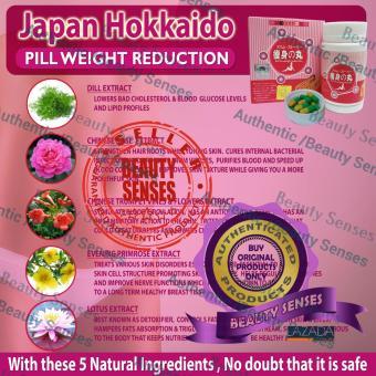 Japan Hokkaido Weight Loss Slimming Yellow Green Pills 40s - 5