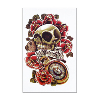 Jetting Buy Skull Tattoo Magic Flash Inspired 1 Sheet Skull