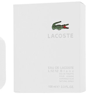 Lacoste Eau De Lacoste White L.12.12 Blanc Eau de Toilette for Men 100ml - picture 2