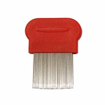 Lice Terminator Removes Dandruff Hair Comb Magic Suyod (Red)
