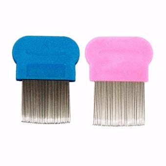 Lice Terminator Removes Dandruff Hair Comb Magic Suyod Set of 2Magic Suyod (Light Pink/Sky Blue) Price Philippines