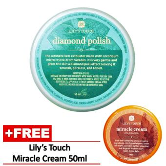 Lily's Touch Diamond Polish 50ml with FREE Miracle Cream 50ml