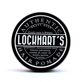 Lockhart's Authentic Hair Pomade Heavy Hold 4 oz. - 2