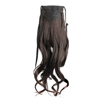 Long Curly Girl Big Wavy Ponytail Wigs Pony Hair HairpieceExtension Hot - 5