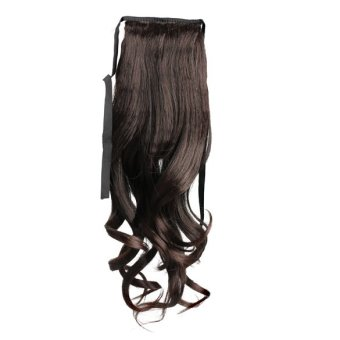 Long Curly Girl Big Wavy Ponytail Wigs Pony Hair HairpieceExtension Hot - 4