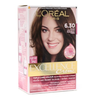 Loreal Paris Excellence Cream Hair Color 6.3 (Golden Dark Blonde) Price Philippines
