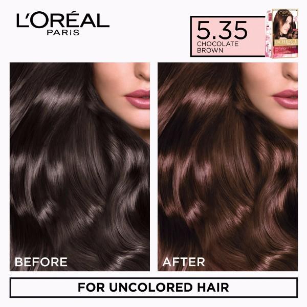 Loreal Chocolate Brown Hair Color 535